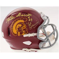 "Mike Garrett Signed USC Trojans Speed Mini-Helmet Inscribed ""'65 Heisman"" (Radtke COA)"