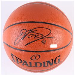 Dirk Nowitzki Signed NBA Game Ball Series Basketball (Panini COA)