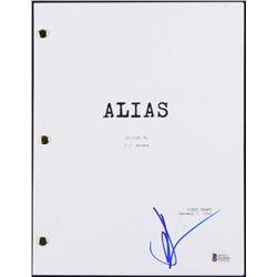"""JJ Abrams Signed """"Alias: Pilot"""" Full Episode Script (Beckett COA)"""