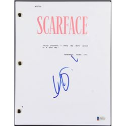 "Al Pacino Signed ""Scarface"" Full Movie Script (Beckett COA)"