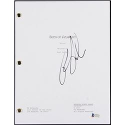 "Ron Perlman Signed ""Sons of Anarchy"" Full Pilot Episode Script (Beckett COA)"
