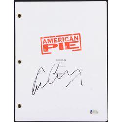 """Eugene Levy Signed """"American Pie"""" Full Movie Script (Beckett COA)"""