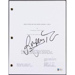 "Rupert Grint Signed ""Harry Potter and the Deathly Hallows- Part 2"" Movie Script (Beckett COA)"