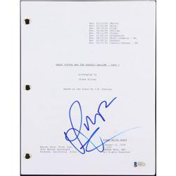 "Rupert Grint Signed ""Harry Potter and the Deathly Hallows- Part 1"" Movie Script (Beckett COA)"