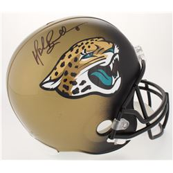 Mark Brunell Signed Jaguars Full-Size Helmet (JSA COA)