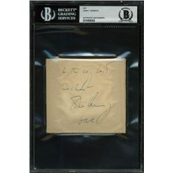 John F. Kennedy Signed Cut (BGS Encapsulated)