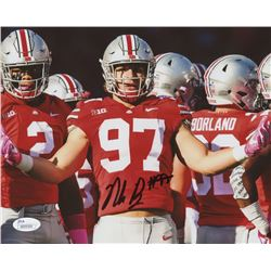 Nick Bosa Signed Ohio State Buckeyes 8x10 Photo (JSA COA)