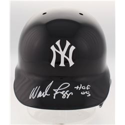 "Wade Boggs Signed New York Yankees Full-Size Batting Helmet Inscribed ""HOF 05"" (Radtke COA)"