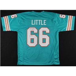 """Larry Little Signed Miami Dolphins Jersey Inscribed """"HOF 93"""" (JSA Hologram)"""