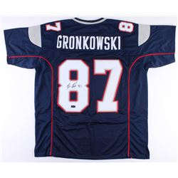 Rob Gronkowski Signed Patriots Jersey (Radtke COA)