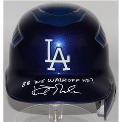 "Kirk Gibson Signed Los Angeles Dodgers Full-Size Batting Helmet Inscribed ""88 WS Walk-off HR"" (Radtk"