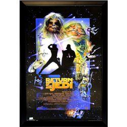 "Harrison Ford Signed ""Star Wars: Return of the Jedi"" 28x40 Custom Framed Poster (Radtke COA)"
