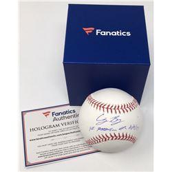 "Cody Bellinger Signed Limited Edition OML Baseball Inscribed ""1st Postseason HR 10/9/17"" (MLB Hologr"