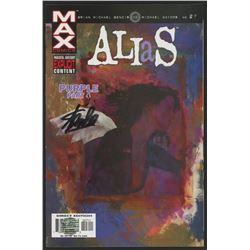 Stan Lee Signed 2003 Alias - Purple - Part Four Issue #27 Marvel Comic Book (Lee COA)