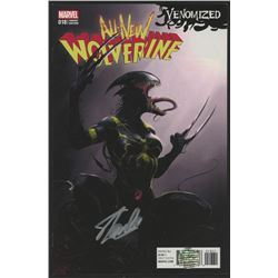 """Stan Lee Signed 2017 """"All-New Wolverine"""" Issue #18 Marvel Comic Book (Lee COA)"""