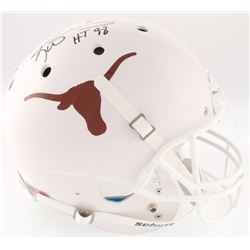 "Ricky Williams Signed Texas Longhorns Full-Size Helmet Inscribed ""HT 98"" (JSA COA)"