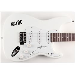 """Angus Young Signed """"AC/DC"""" 39"""" Electric Guitar  (Beckett COA)"""