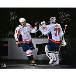Alex Ovechkin  Braden Holtby Signed Washington Capitals 16x20 Limited Edition Photo (Fanatics Hologr