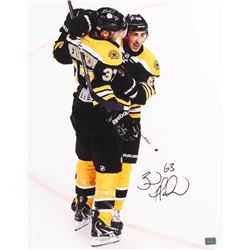 Brad Marchand Signed Boston Bruins 16x20 Stretched Canvas (Your Sports Memorabilia Store Hologram)