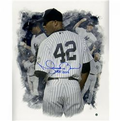 "Mariano Rivera Signed New York Yankees ""Career Montage"" 16x20 Photo Inscribed ""HOF 2019"" (Steiner CO"