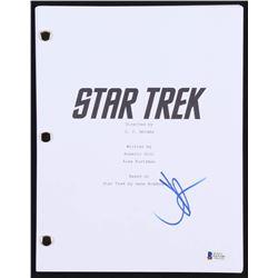 J.J. Abrams Signed  Star Trek  Full Movie Script (Beckett COA)