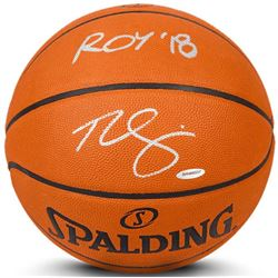 "Ben Simmons Signed Limited Edition Spalding Basketball Inscribed ""ROY '18"" (UDA COA)"