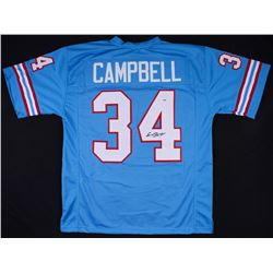 Earl Campbell Signed Houston Oilers Jersey (PSA COA)