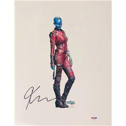"Karen Gillan Signed ""Guardians of the Galaxy Vol. 2"" 11x14 Photo (PSA COA)"