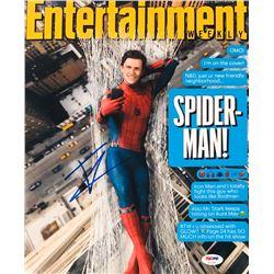 Tom Holland Signed 11x14 Entertainment Weekly Photo (PSA COA)
