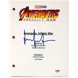 "Elizabeth Olsen Signed ""Avengers: Infinity War"" Full Movie Script (Beckett COA)"