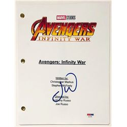 "Letitia Wright Signed ""Avengers: Infinity War"" Full Movie Script (Beckett COA)"