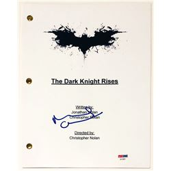 "Michael Caine Signed ""The Dark Knight Rises"" Full Movie Script (PSA COA)"