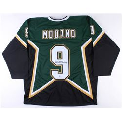 Mike Modano Signed Dallas Stars Captain Jersey (Beckett COA)