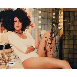 Nathalie Emmanuel Signed 8x10 Photo (PSA COA)