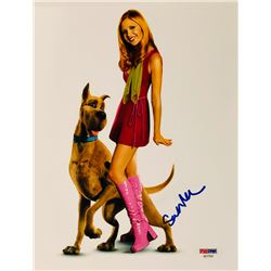"Sarah Michelle Gellar Signed ""Scooby-Doo"" 8x10 Photo (PSA COA)"