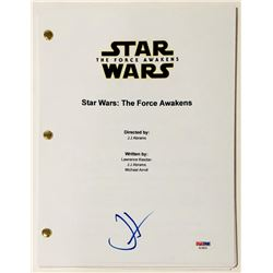 "J.J. Abrams Signed ""Star Wars: The Force Awakens"" Full Movie Script (PSA COA)"