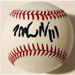 "Jack White Signed OML Baseball Inscribed ""II/III"" (PSA COA)"