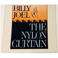 "Billy Joel Signed ""The Nylon Curtain"" Vinyl Record Album (PSA COA)"