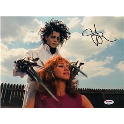 "Johnny Depp Signed ""Edward Scissorhands"" 11x14 Photo (PSA COA)"