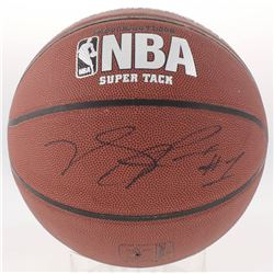 Derrick Rose Signed NBA Basketball (JSA COA)