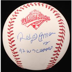 "Roberto Alomar Signed 1992 World Series Baseball Inscribed ""92 W-S Champ"" (JSA COA)"
