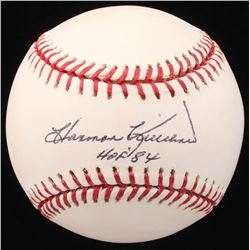 "Harmon Killebrew Signed OML Baseball Inscribed ""HOF '84"" (JSA COA)"