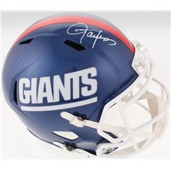 Lawrence Taylor Signed New York Giants Full-Size Color Rush Speed Helmet (JSA COA)