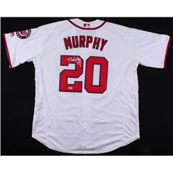 Daniel Murphy Signed Washington Nationals Majestic Jersey (PSA COA)