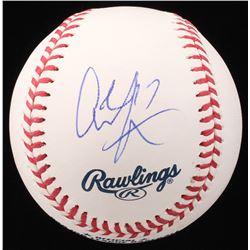 Alshon Jeffery Signed OML Baseball (PSA COA)