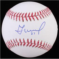 Jose Altuve Signed OML Baseball (Beckett COA)