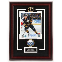 Jack Eichel Signed Buffalo Sabres 17x23 Custom Framed Photo Display (Your Sports Memorabilia Store C