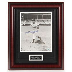 Phil Rizzuto Signed New York Yankees 14x17 Custom Framed Photo Display (Your Sports Memorabilia Stor