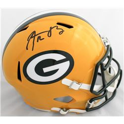 Aaron Rodgers Signed Green Bay Packers Full-Size Speed Helmet (Steiner Hologram)