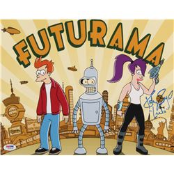 """Katey Sagal Signed """"Futurama"""" 11x14 Photo Inscribed """"Leela"""" (PSA COA)"""